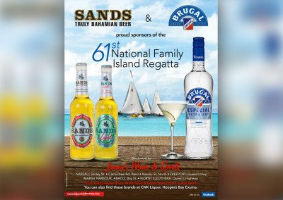 Sands / Brugal 61st National Family Island Regatta