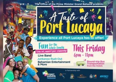 A Taste of Port Lucaya
