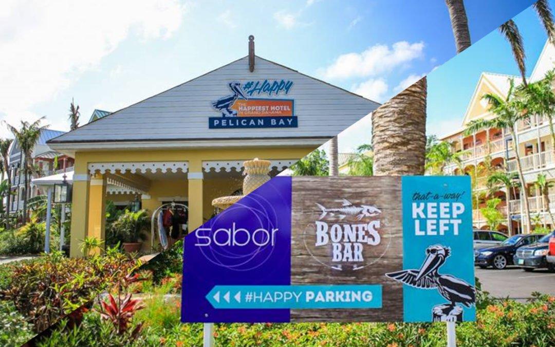 Pelican Bay Signage