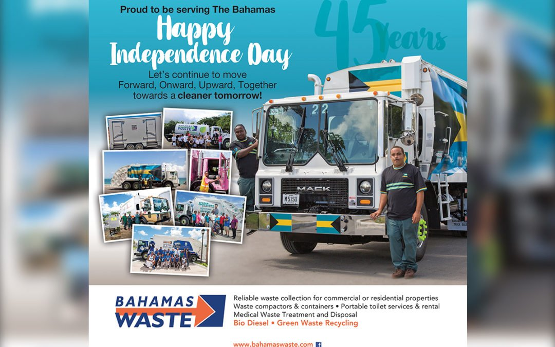 Bahamas Waste 45th Independence