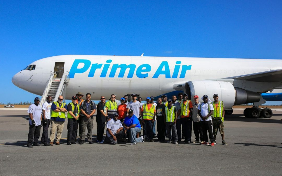 Grand Bahama Disaster Relief Foundation Receives Largest Single Donation of In-Kind Relief from Amazon